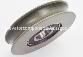 Hitachi Elevator Door Hanger Roller Curved Groove without Shaft  65*13*6202