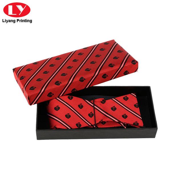 Luxury Bow Tie Gift Box Black