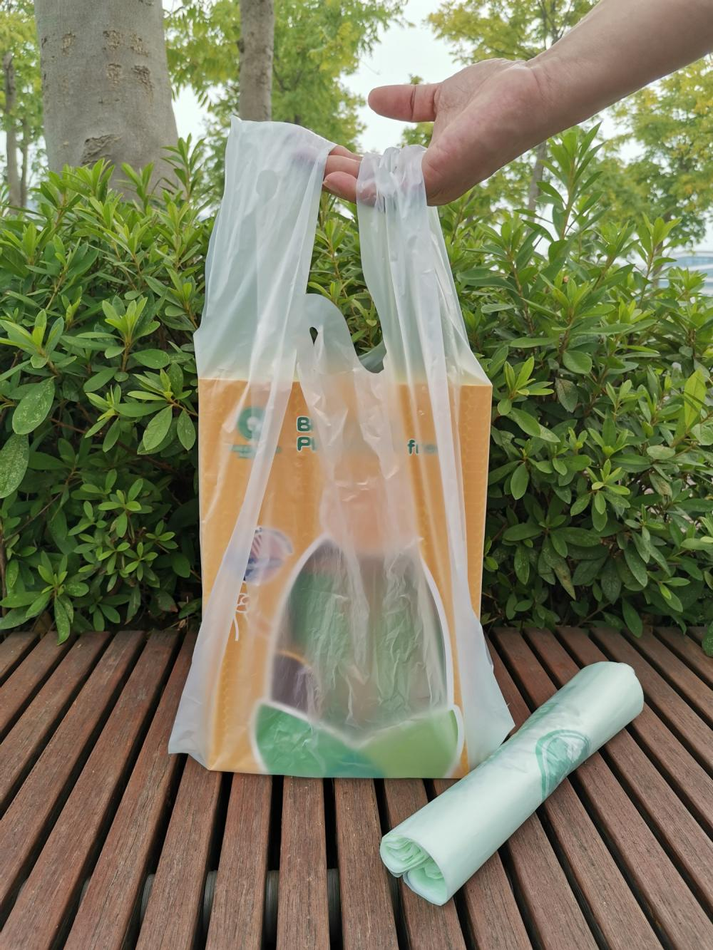Eco-Friendly Plastic Carrier Bags