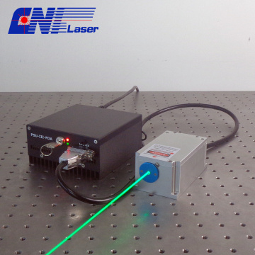 10mw 520mn long coherent green laser for holography