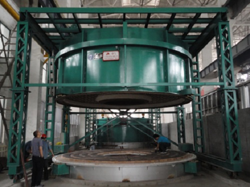 electric bell furnace