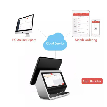 Aluminum 17'' Desktops Touch Screen POS with NFC