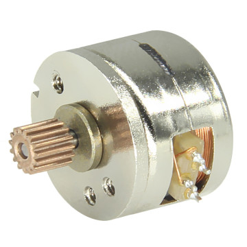 25 mm PM Stepper Motor, Stepper Motor with 15mm Diameter for Printer, High Precise Stepper Motor Customizable