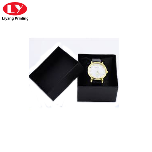 two pieces blue color watch boxes