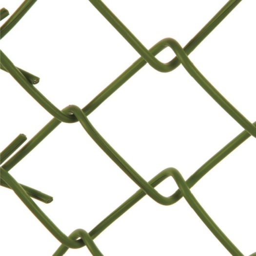 China supplier double leaf blue vinyl coated chain link fencing