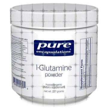 allergic reaction to l glutamine