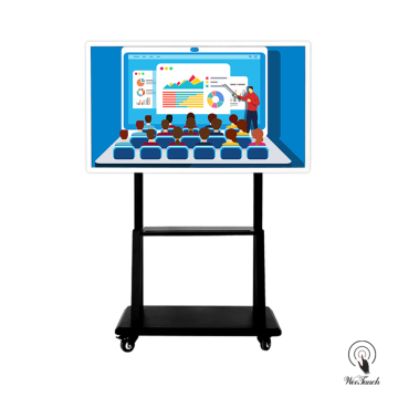 55 inches smart LCD panel with mobile stand