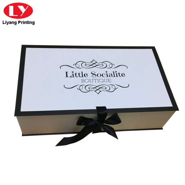 Hot Sell White Gift Box Wedding Dress Packaging