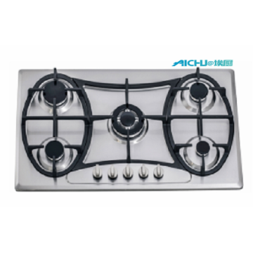 5 Burners Stainless Steel Cooktop