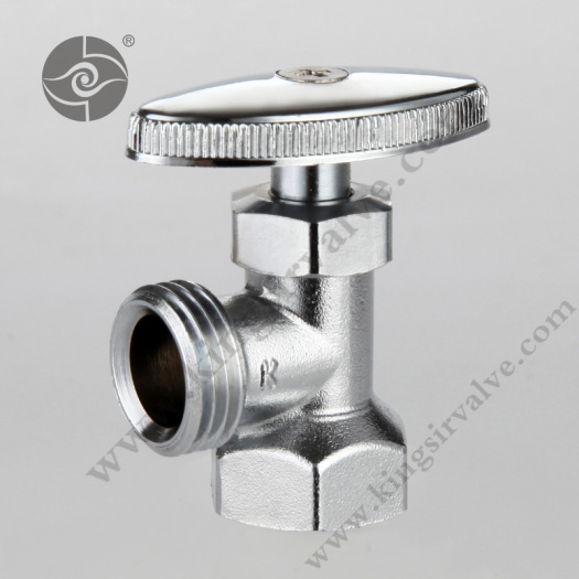 Nickel plating angle valve