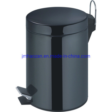 High Quality Stainless Steel Foot Pedal Trash Bin, Dustbin