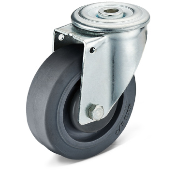 13 Series TPR Bolt Hole Movable Casters