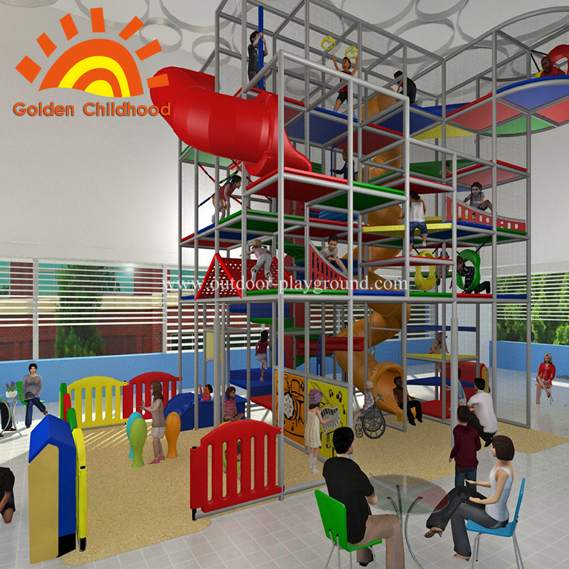 Large indoor mall with playground for sale