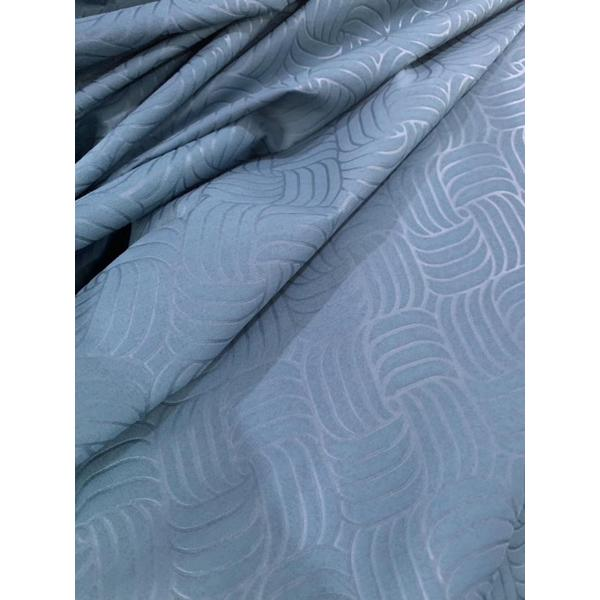 Polyester Dyed Emboss Fabric
