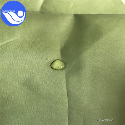 .100% polyester silver coated waterproof taffeta fabric for curtain