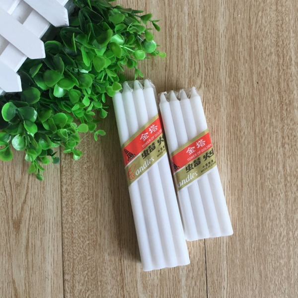 Home Decoration Big White Velas Candles Wax