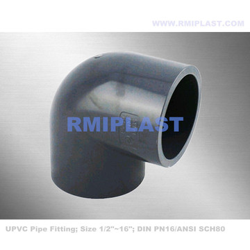 UPVC Elbow 90 Degree SCH80