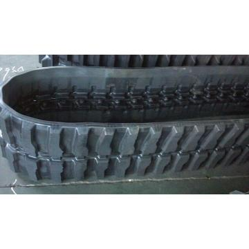 Rubber track 230x96x35 mini excavator undercarriage