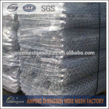 Galvanize wire netting/gabion mesh /chicken wire mesh