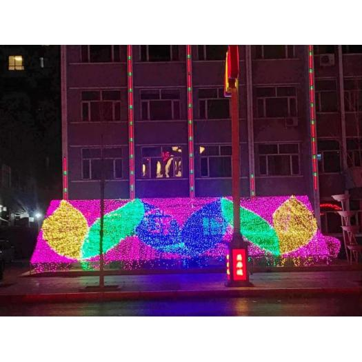 Outdoor color transforming led wall washer