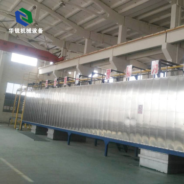 New Automatic Energy Saving Hanging Spray Type Pre-treatment Coating Line
