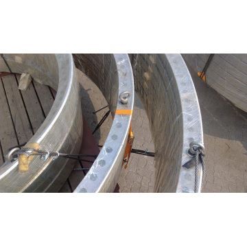 7.0MW Offshore Wind Power Single Pile Foundation Flange