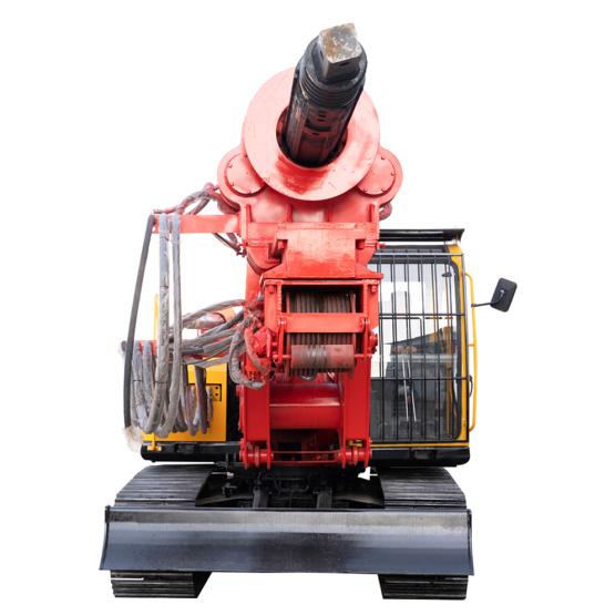 旋转卡车安装钻机机