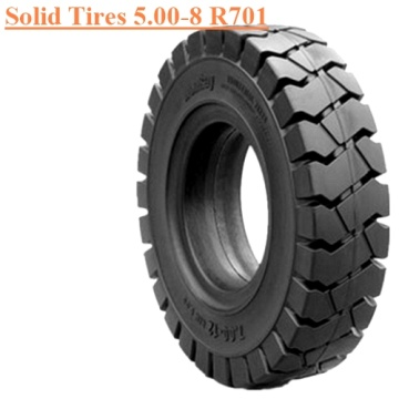 Forklift Solid Tire 5.00-8 R701