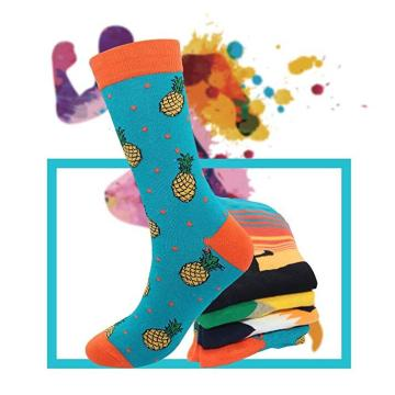 Fashion Colorful Casual Socks
