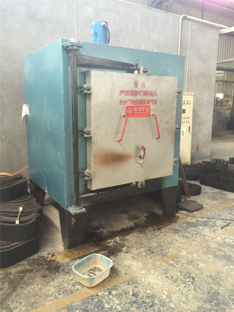 Medium temperature chamber annealing furnace in the use