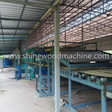 High Efficiency Plywood Veneer Dryers