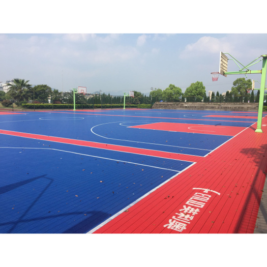 PP interlocking basketball outdoor court tiles