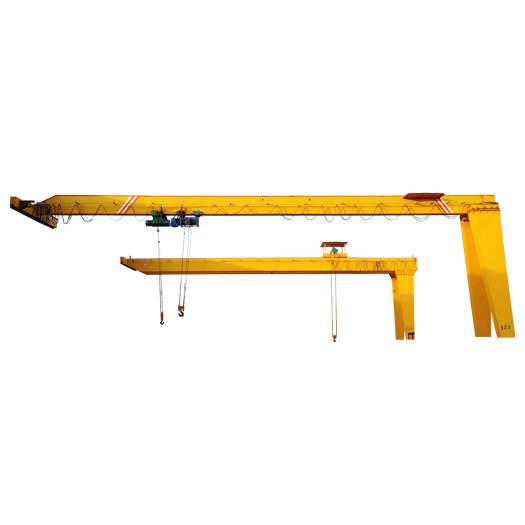 25 ton mobile semi gantry crane factory price