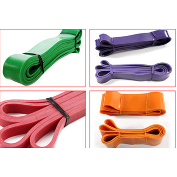 Body Building Natural Latex Gymnastics Resistance Bands