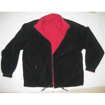 red/black outdoor windproof softshell jacket