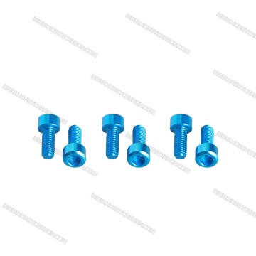 Hex Socket Head Screw With Colorful Aluminum Screw
