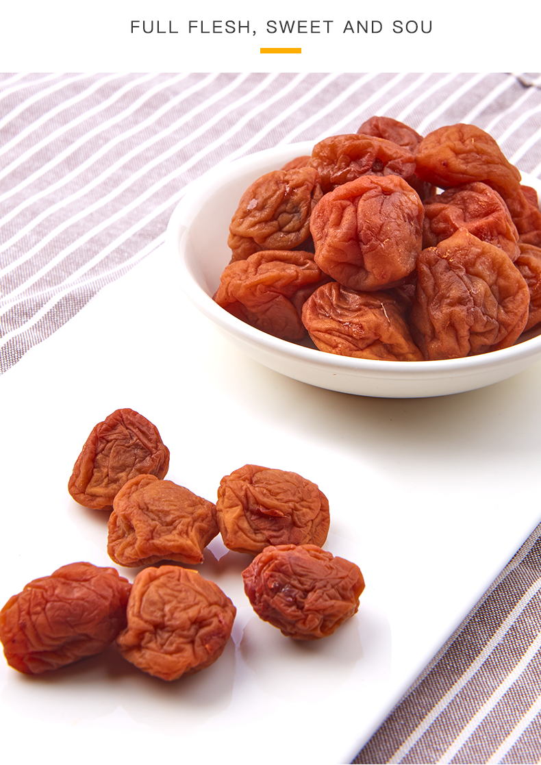 Sweet and Sour Dried Plums