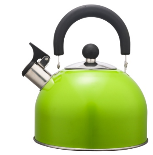 KHK004 1.5L Stainless Steel color painting Teakettle green color