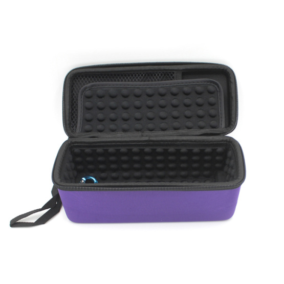 Top factory colorful custom design eva hard speaker case with zippers