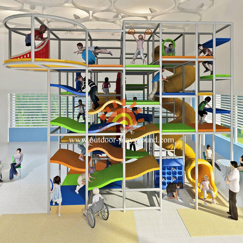 Large Play Structure Indoor Playground