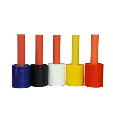 New model stretch film with colour handle
