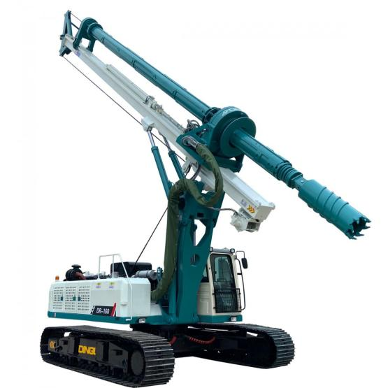 Crawler Mobile Oil Deep Well Drilling Rig Machine