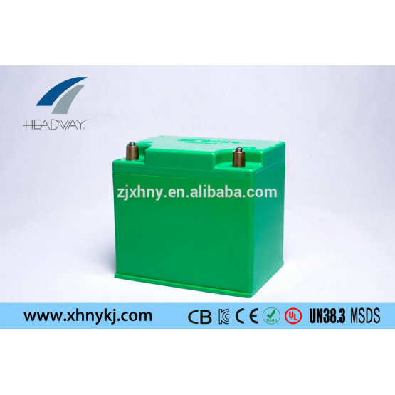 lithium ion rechargeable battery 12V30ah for auto start