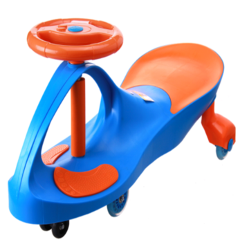 Kids Outdoor Swing Toy Car With Music
