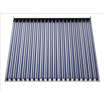 Large-scale CPC U-pipe solar collector