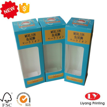 Paper Product Packaging Box with PVC Window