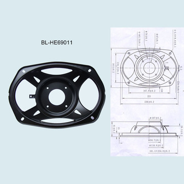 6*9 Car Speaker Bracket 6x9 Inches