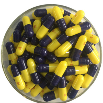 bovine bone gelatin empty capsules black yellow