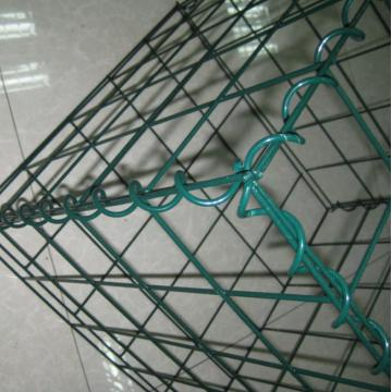 4mm Ral6005 Powder Coating Welded Gabion
