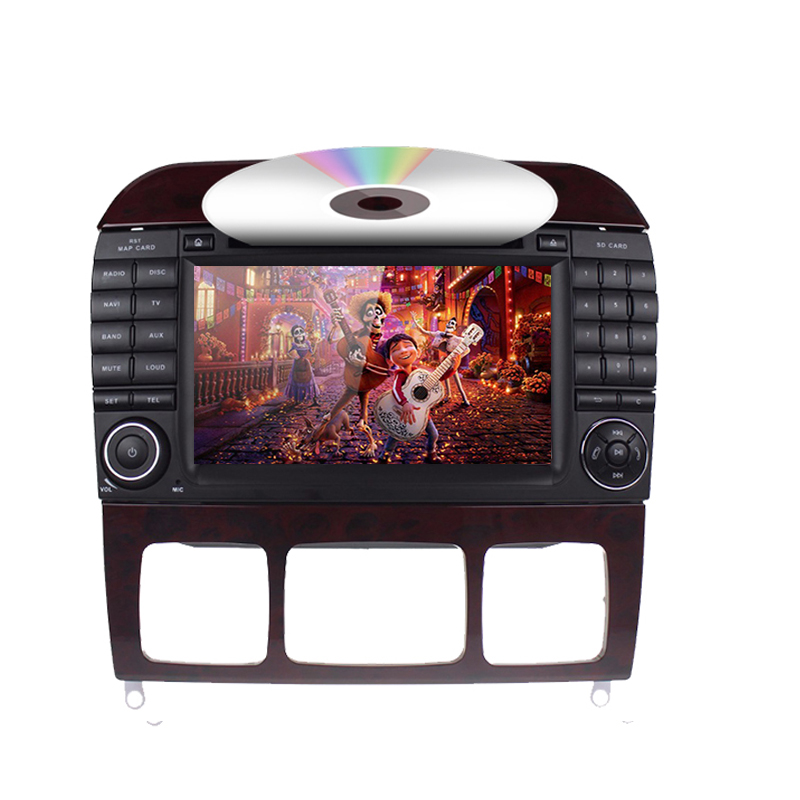Multimedia Player for Benz W220
